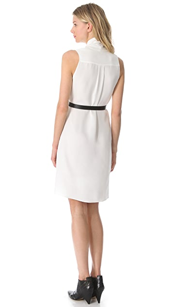Derek Lam Draped Sleeveless Dress
