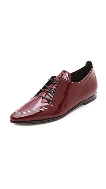 Derek Lam Romia Pointed Oxfords