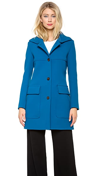 Derek Lam Patch Pocket Pea Coat