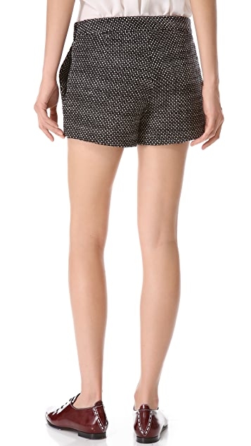 Derek Lam Tweed Shorts