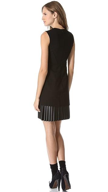Derek Lam Pleated Hem Dress