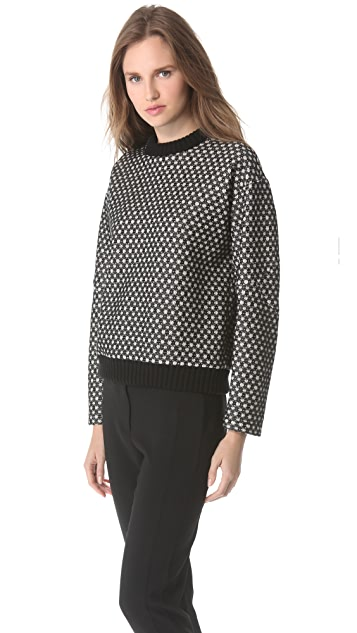 Derek Lam Pullover with Elbow Patches
