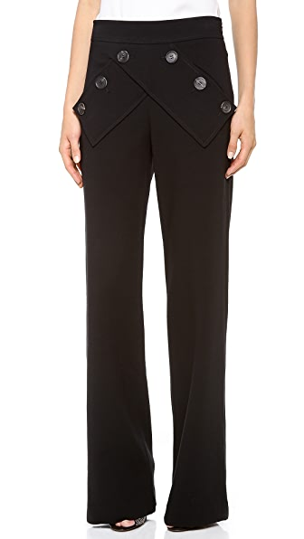 Derek Lam Wool Sailor Pants