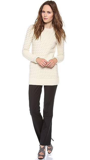 Derek Lam Wool Tunic Sweater