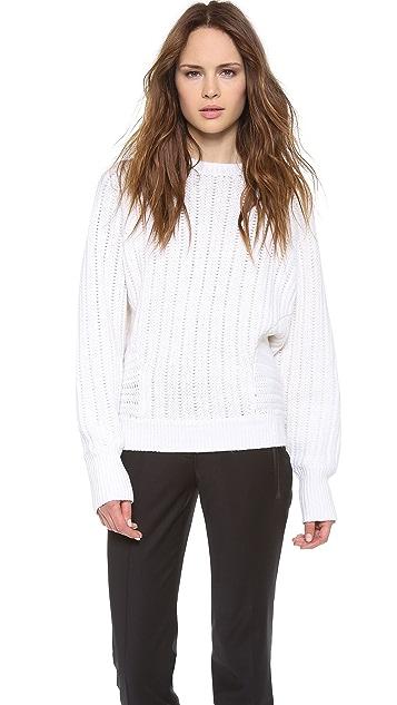 Derek Lam Cashmere Batwing Sweater