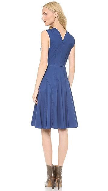 Derek Lam Sleeveless Dress with Full Skirt