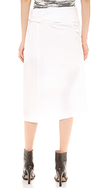 Derek Lam Twisted Sarong Skirt