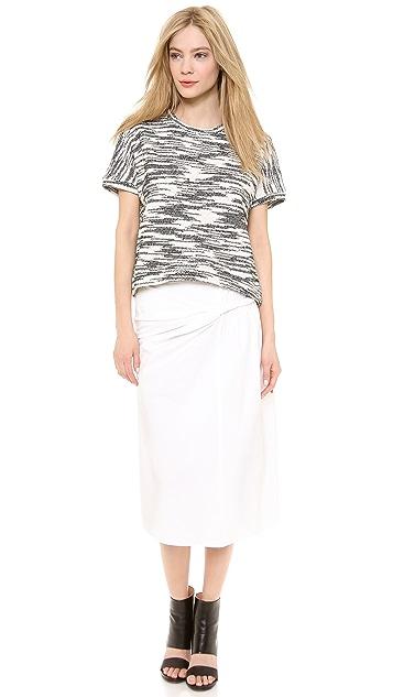 Derek Lam Twisted Sarong Skirt