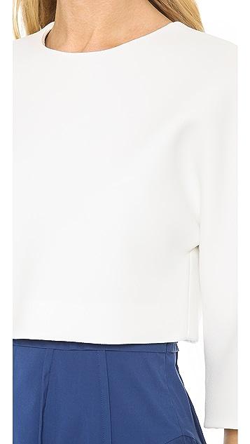 Derek Lam Short Sleeve Top