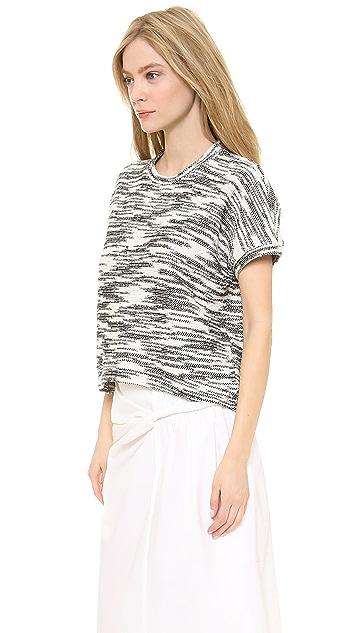 Derek Lam Short Sleeve Pullover