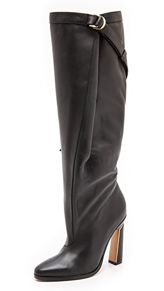 Derek Lam Pleated Knee High Boots