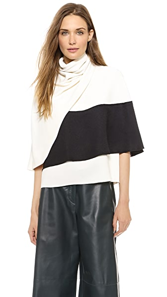 Derek Lam Sleeveless Wrap Top