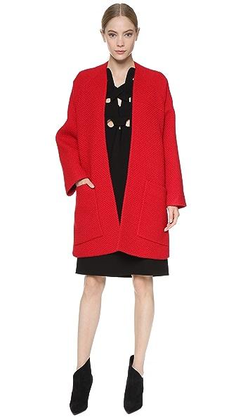 Derek Lam Boucle Kimono Coat