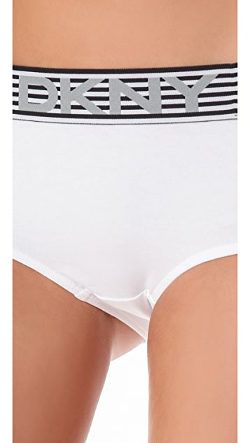 DKNY Intimates Boxer Story Boy Shorts