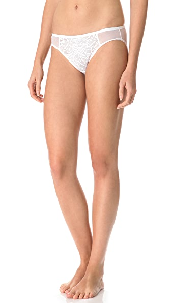DKNY Intimates Signature Lace Bikini Briefs