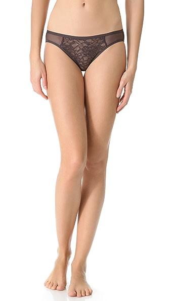 DKNY Intimates Signature Lace Bikini Briefs