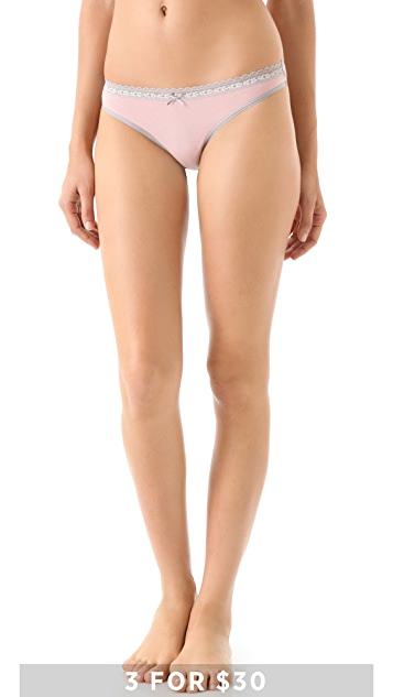 DKNY Intimates Delicate Essentials Thong