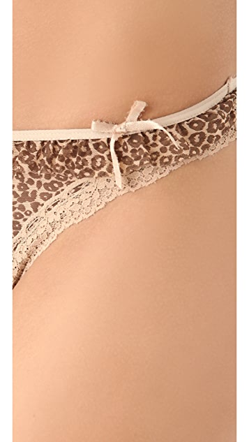 DKNY Intimates Fancy Frills Thong