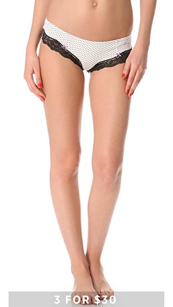 DKNY Intimates Classic Beauty Cotton Hipster