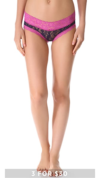 DKNY Intimates Signature Lace Table Bikini Briefs