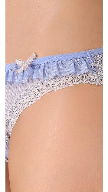 DKNY Intimates Fancy Frills Bikini Briefs