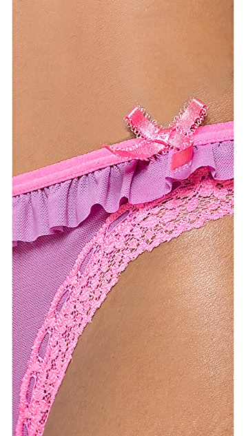 DKNY Intimates Fancy Frills Thong