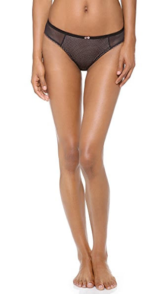 DKNY Intimates Super Sleeks Embellished Bikini