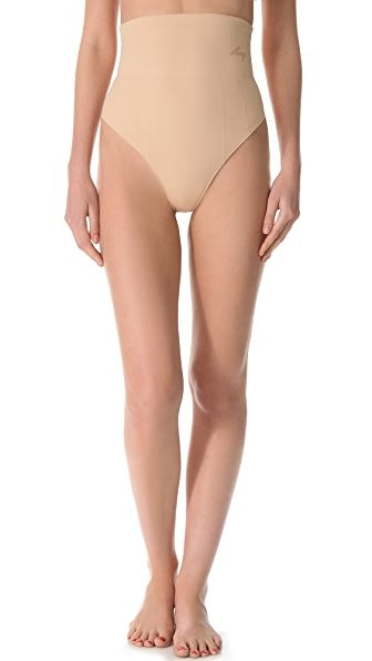 DKNY Intimates Fusion High Waisted Thong