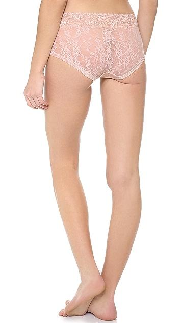 DKNY Intimates Signature Lace Boy Shorts
