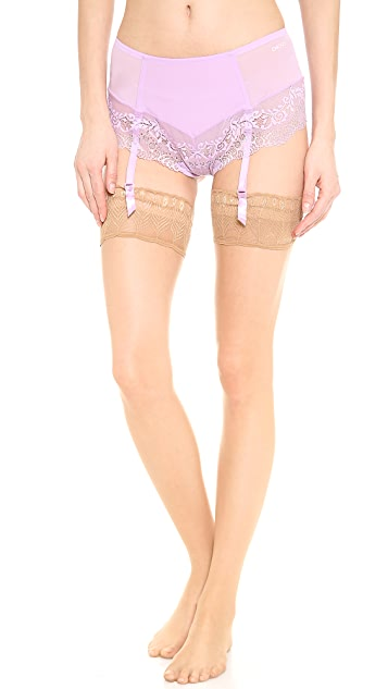 DKNY Intimates Seductive Lights French Thong with Garters