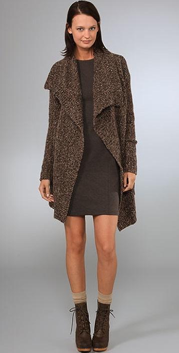 DKNY pure DKNY Long Sleeve Cozy Cardigan