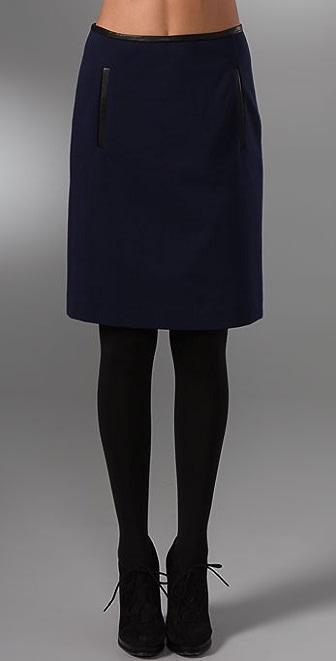 DKNY Knee Length Skirt