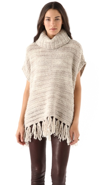 DKNY pure DKNY Fringed Sweater