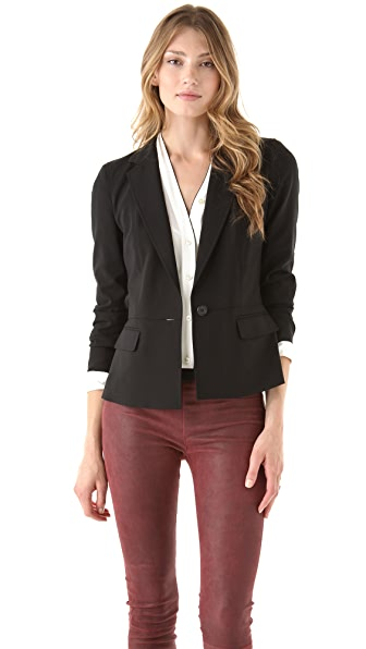 DKNY One Button Blazer