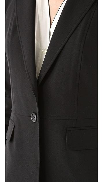 DKNY One Button Blazer