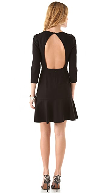 DKNY Open Back Dress
