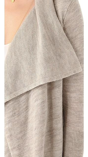 DKNY Pure DKNY Double Front Cardigan
