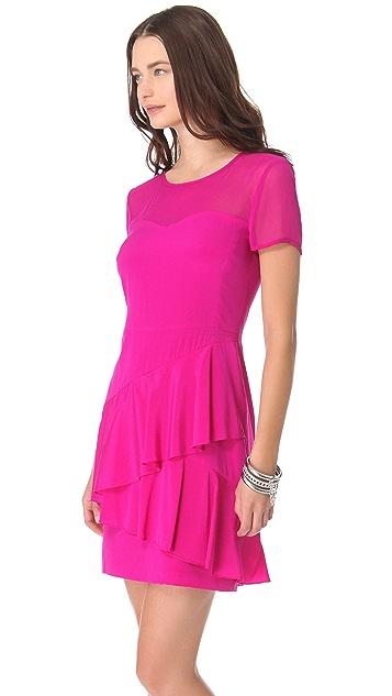 DKNY Sweetheart Neckline Dress