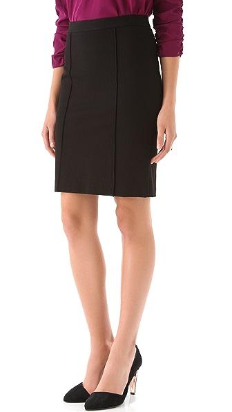 DKNY Raised Seam Pencil Skirt