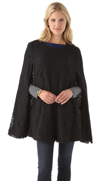DKNY Lace Tunic Cape