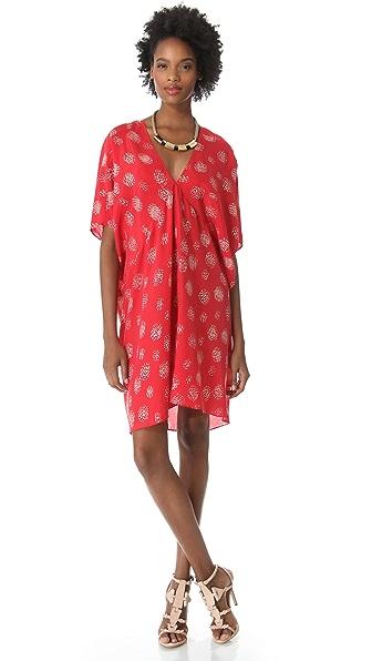 DKNY Pure DKNY Dolman Sleeve Dress