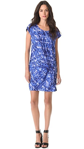 DKNY Pure DKNY Drape Hem Dress