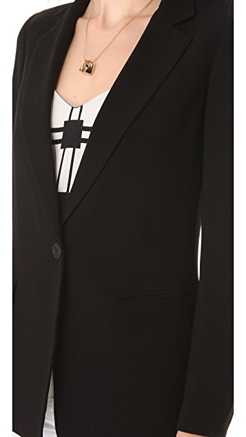 DKNY Notch Collar Jacket