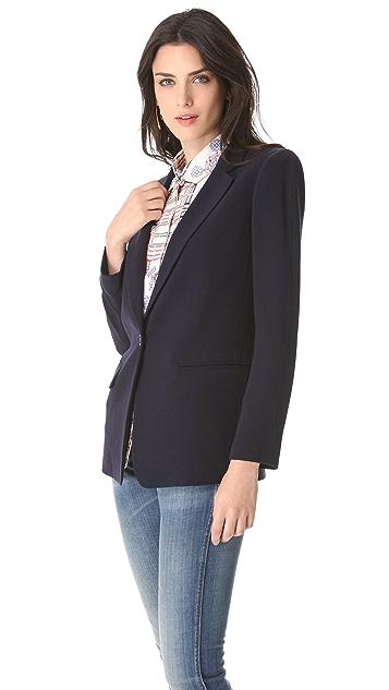 DKNY Notch Collar Jacket