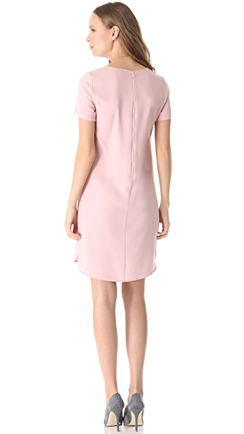 DKNY Exposed Zipper Dress