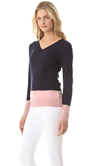 DKNY Colorblock Sweater