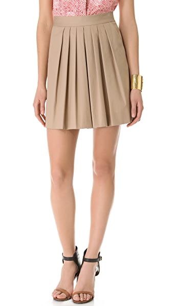 DKNY Pleated Skirt