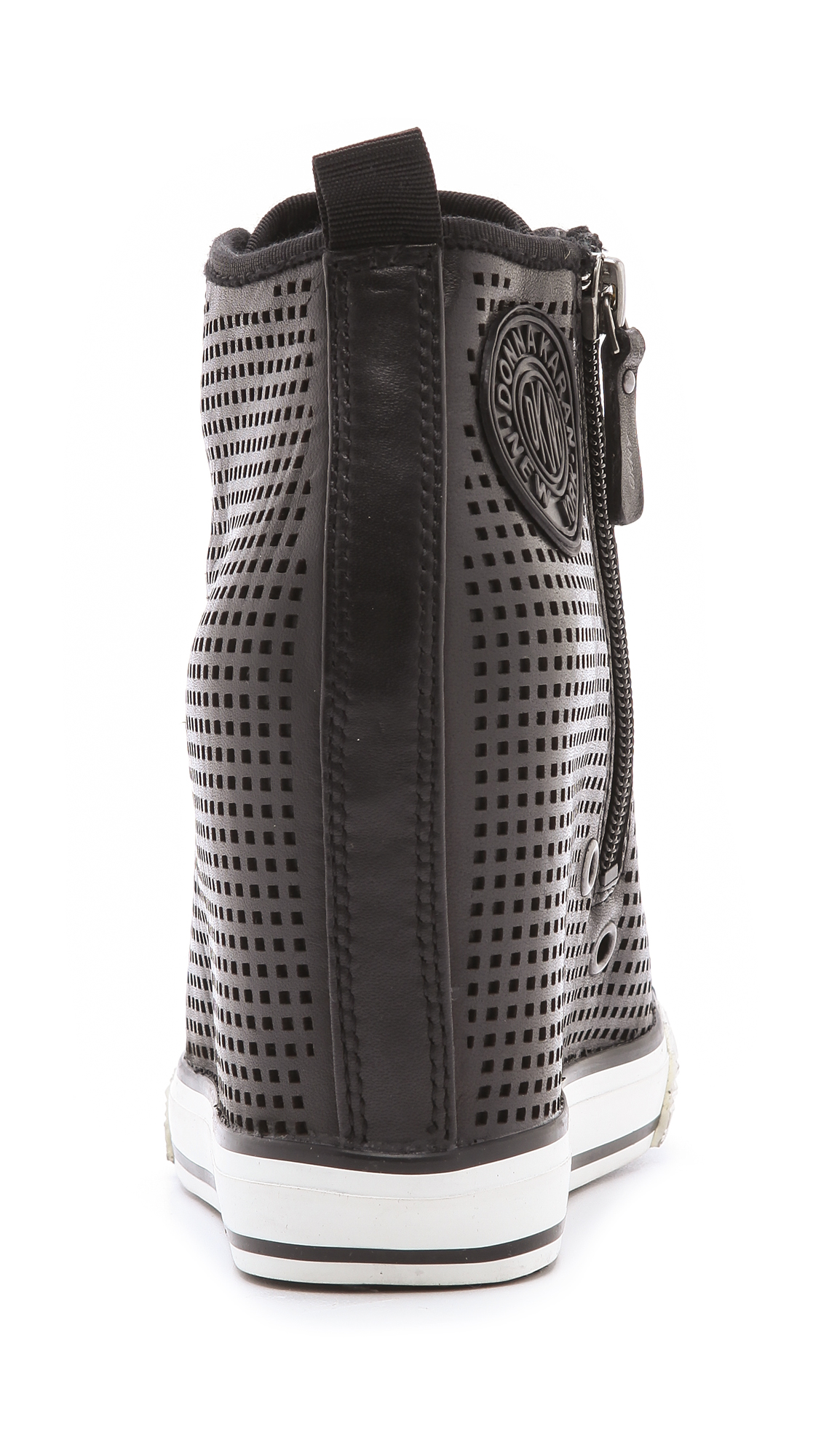 bd820ae0b5b4 DKNY Grommet Wedge Sneakers