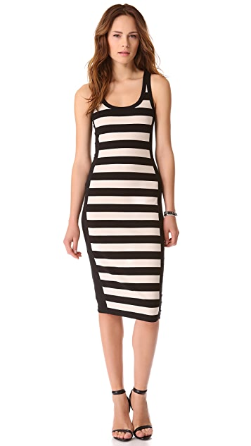 DKNY Sleeveless Midi Dress