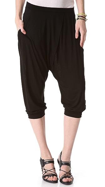 DKNY Pure DKNY Cropped Harem Pants